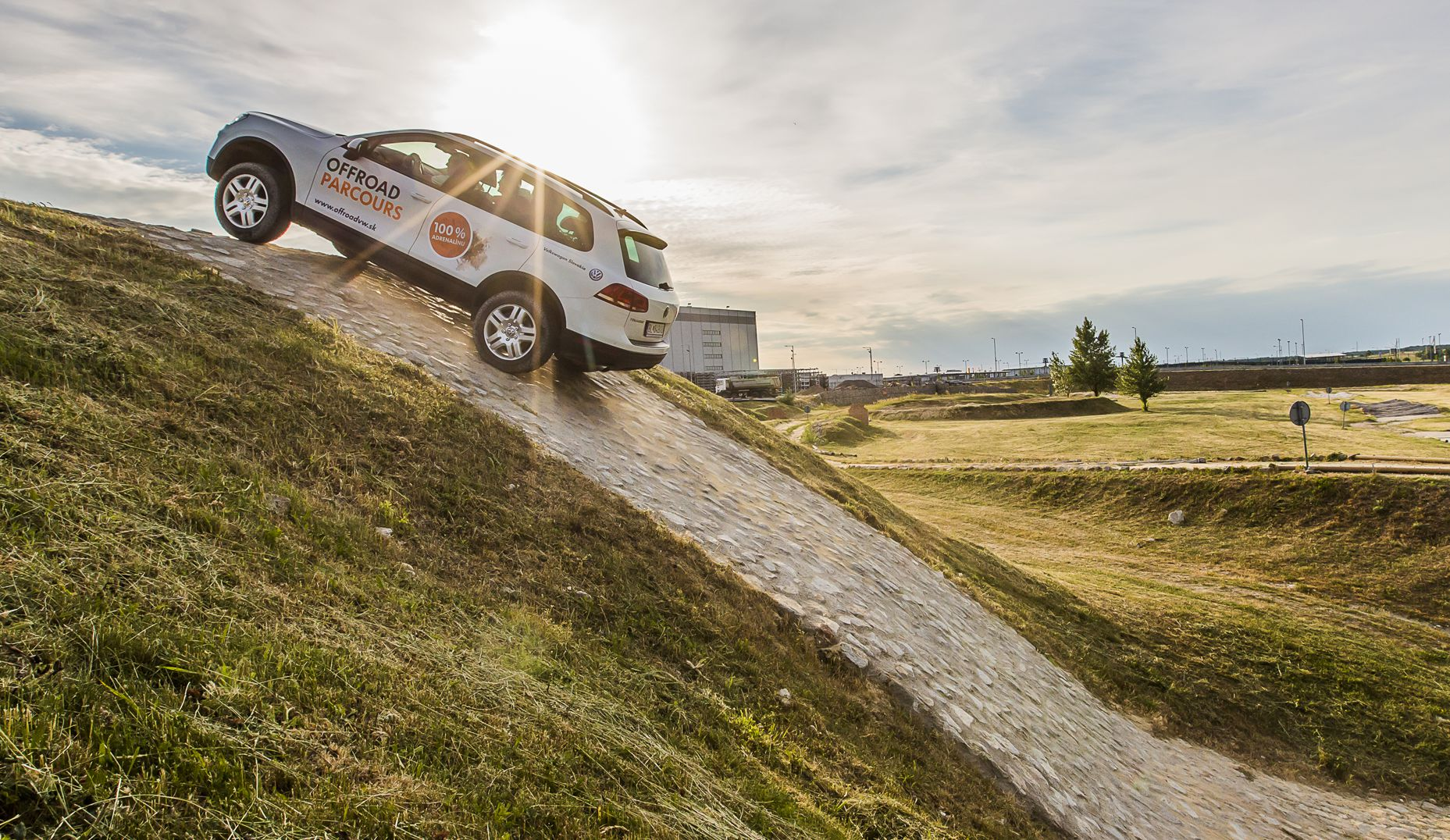 Offroad Parcours - Erlebnisfahrt Volkswagen Slovakia